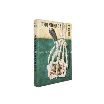 Thunderball by Ian Fleming First Edition Jonathan Cape 1961